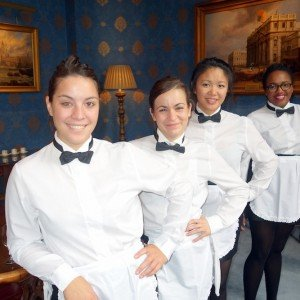 London waiters and waitresses for corporate events