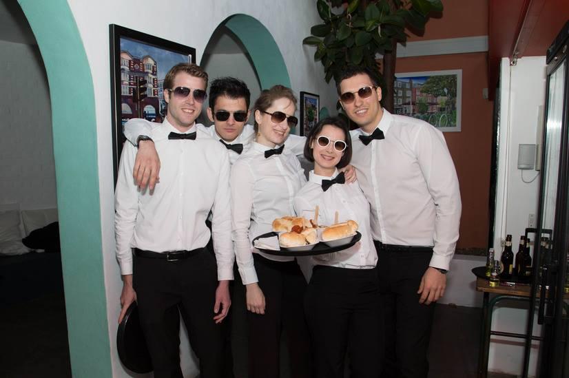 London party theme James Bond
