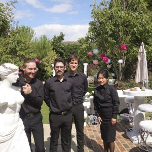 Catering staff agency London