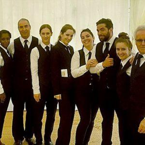 Professional wedding staff